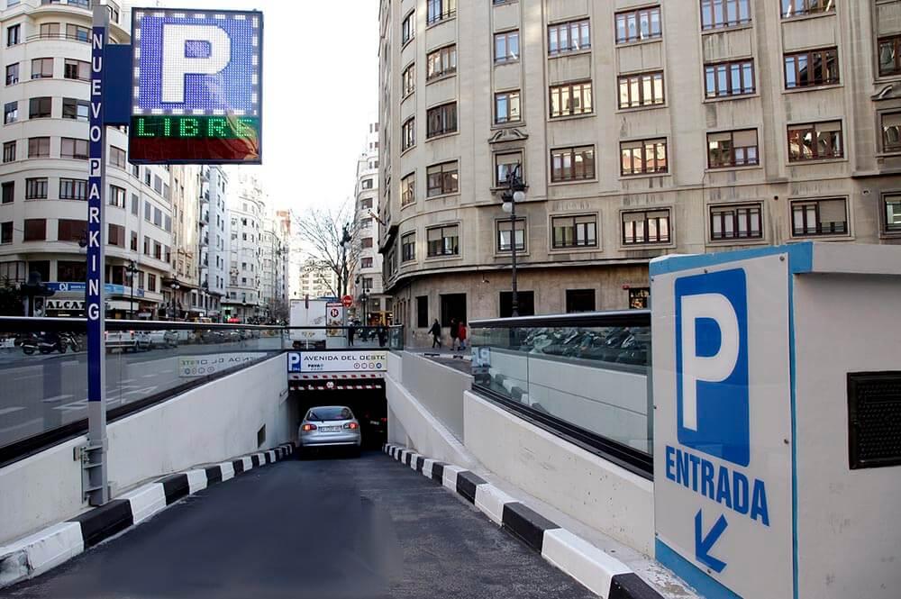 parking valencia espagne