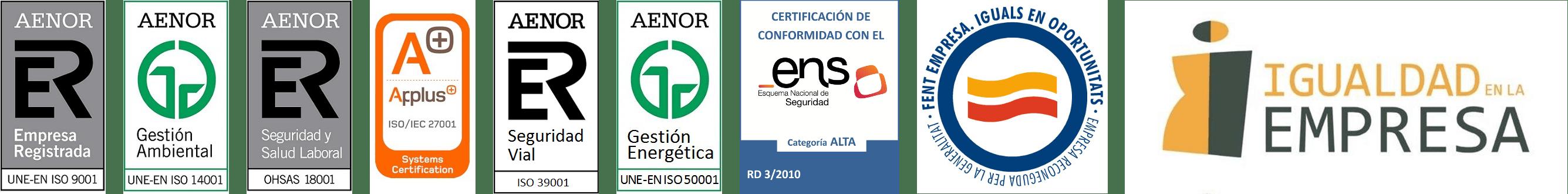 Certificaciones igualdad